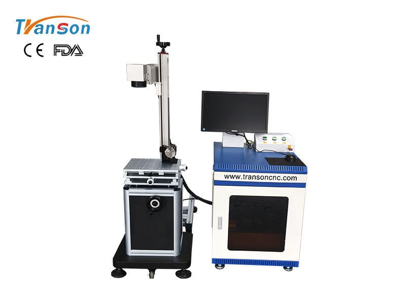 Split fiber industrial laser marking machine