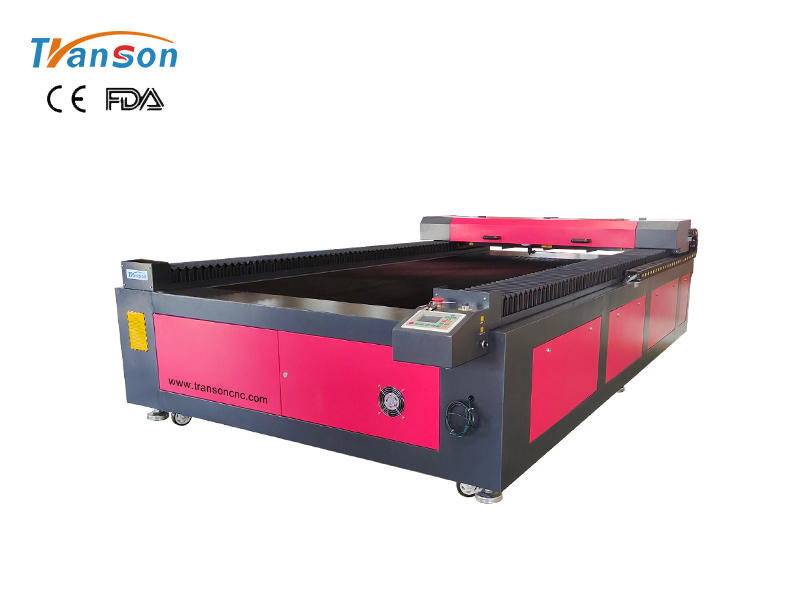 TS1325 Co2 laser engraving cutting machine with CCD camera