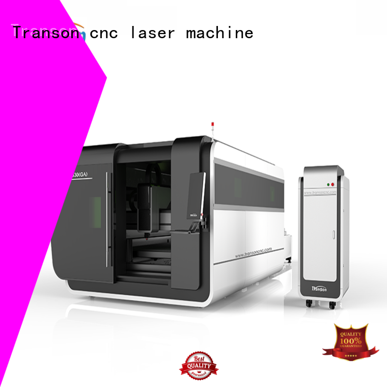 Transon fiber laser cutting machine top selling fast delivery