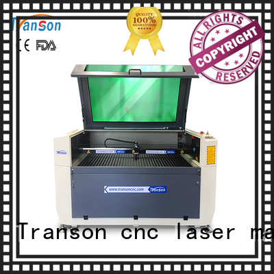 Transon co2 laser cutting machine high quality