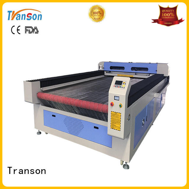 Transon leather cutting machine high performance for metal