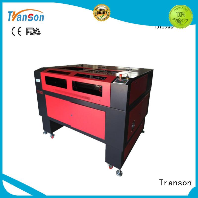 Transon industrial co2 laser cutting machine customization