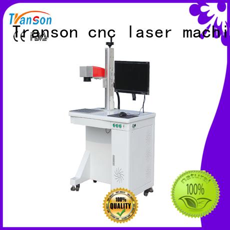 Transon high-precision mini fiber laser marking machine metal engraving