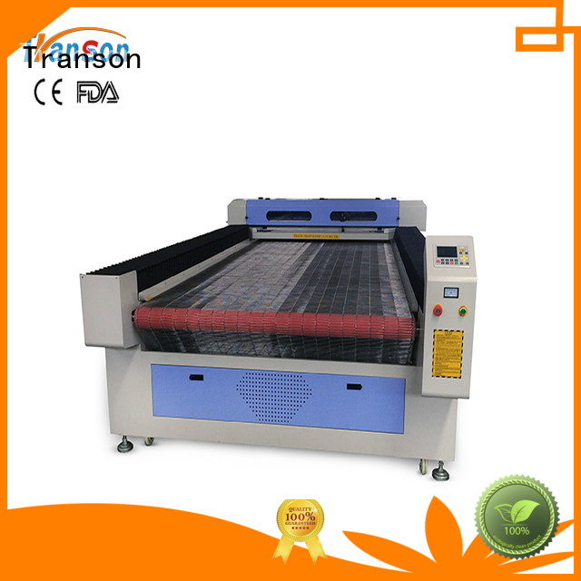 Transon fabric cutting machine popular fast delivery