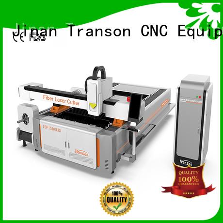 Transon cnc fiber laser cutting machine energy-saving customization