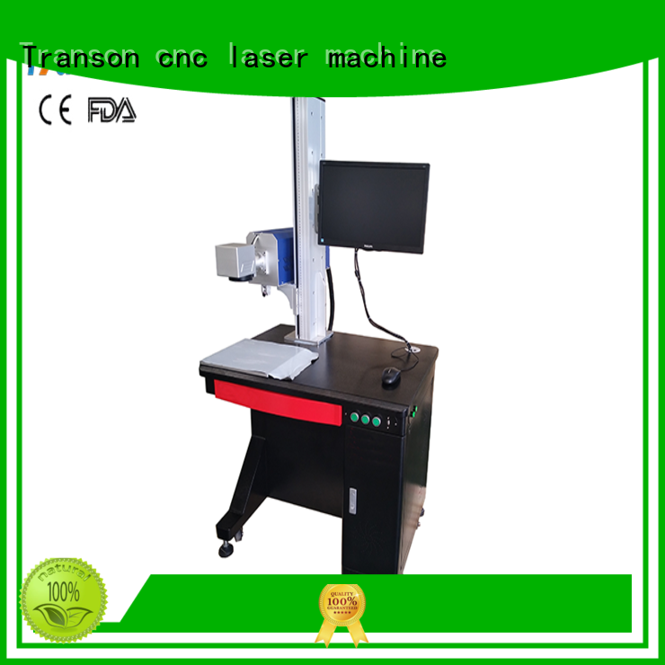 Transon odm co2 laser marking machine popular for metal
