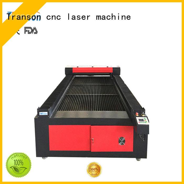 Transon custom laser cutter customization
