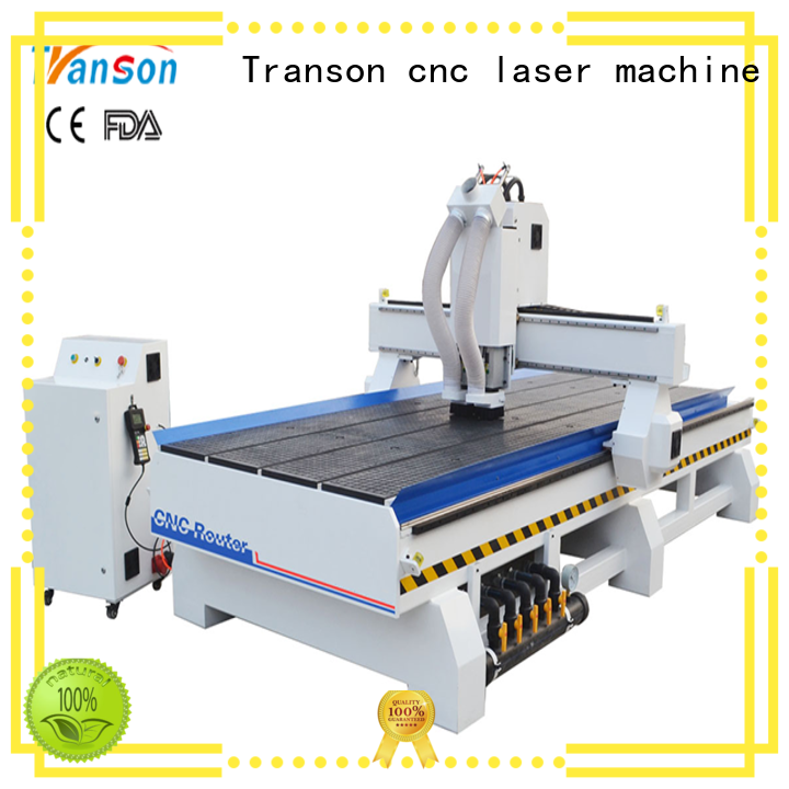 Transon multi head cnc router factory supply for wholesale