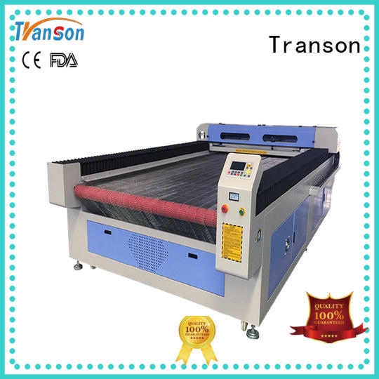 Transon laser cutting machine leather high performance for metal