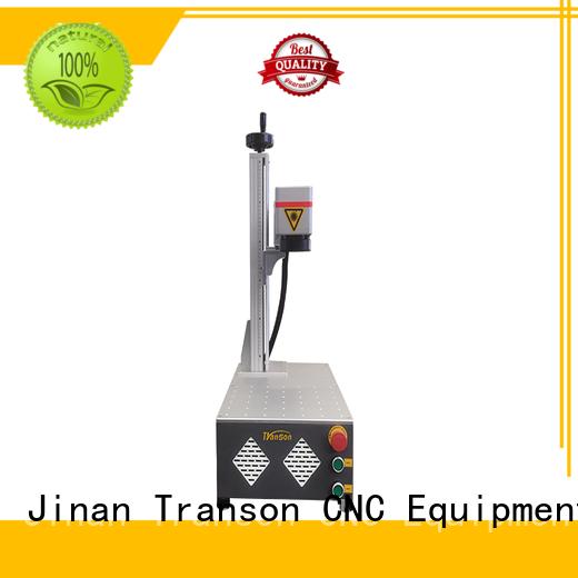 Transon mini fiber laser marking machine cnc best factory price