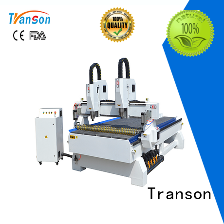 Transon 4 axis cnc router machine factory supply for customization