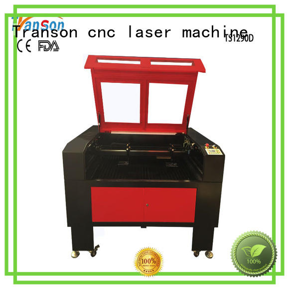 Transon laser engraving cutter high quality customization