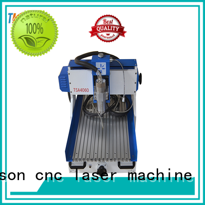 Transon mini cnc router machine stainless steel marking