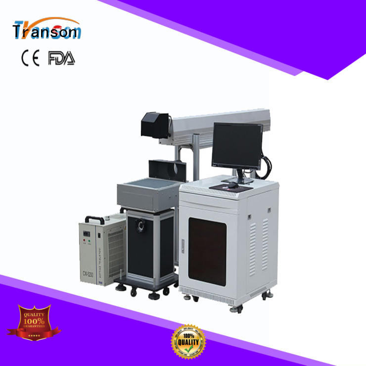 Transon co2 laser marking machine high quality fast delivery