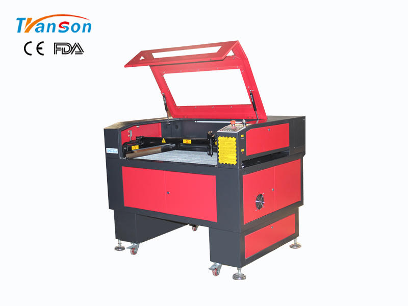 Left Right Feeding Laser Engraving Cutting Machine 6090