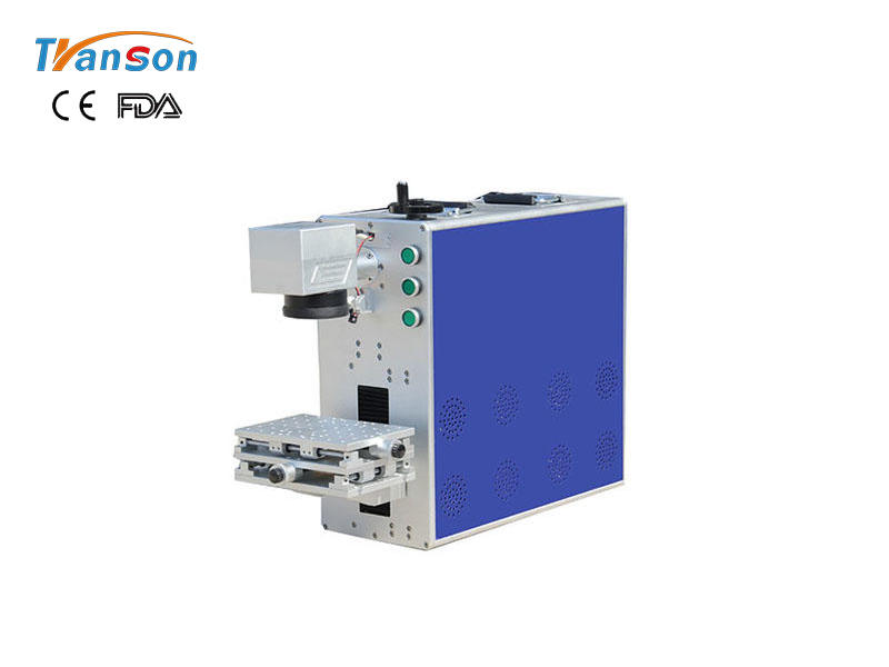 Portable Fiber Laser Marking Machine 20W 30W