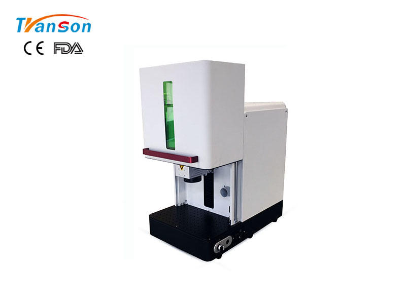 Transon CNC Enclosed Fiber Laser Marker For Metal Plastic