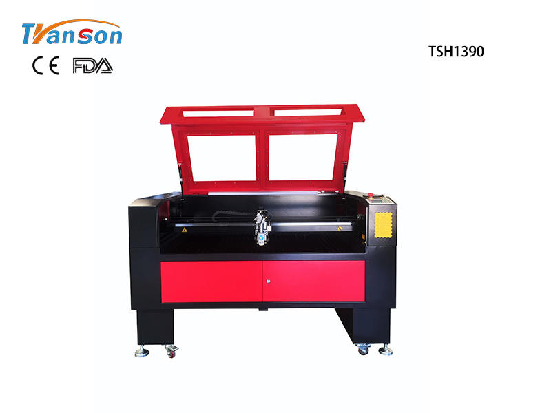 Mixed Metal And Nonmetal CO2 Laser Cutter TSH1390