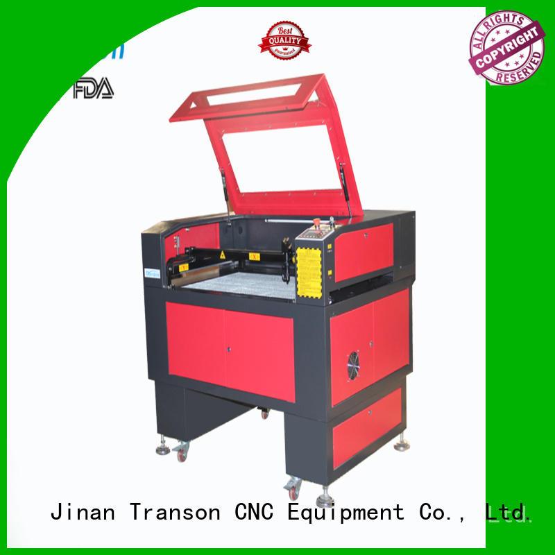 Transon laser engraving cutting machine customization