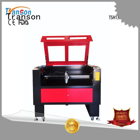 Transon small laser cutter laser wood and metal cutting and engraving machine stainless steel laser cutting machine co2 laser metal cutting machine plastic for sale