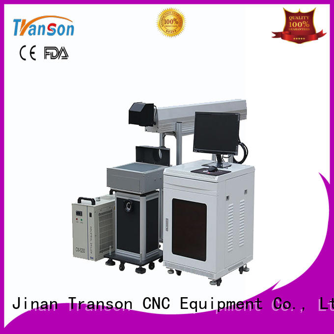 Transon oem co2 marking machine co2 laser marking high performance for metal