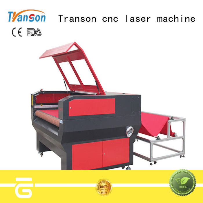 Transon oem leather cutting machine high performance for metal