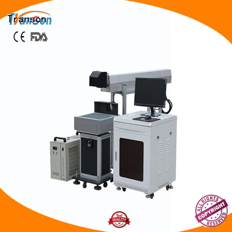 Transon oem laser marker machine laser marking machine high quality for metal