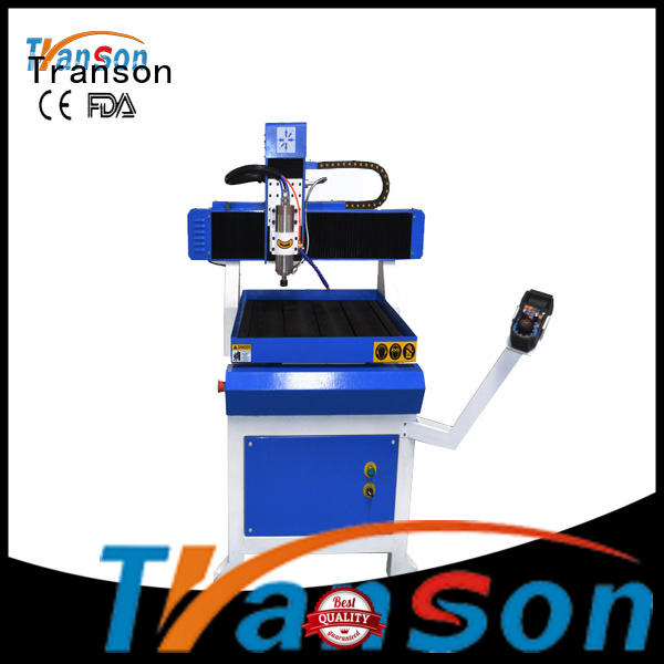 Transon high-precision mini cnc router machine stainless steel marking factory direct supply
