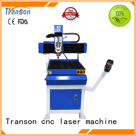 Transon industrial mini cnc router stainless steel marking best factory price