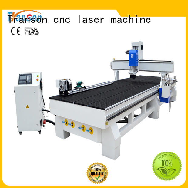 Transon benchtop cnc router metal engraving best factory price