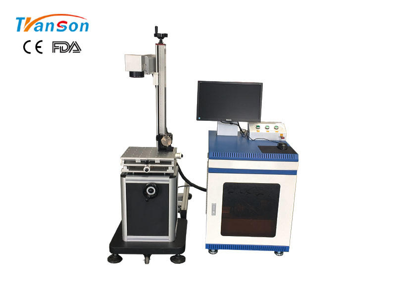 Split fiber industrial laser marking machine