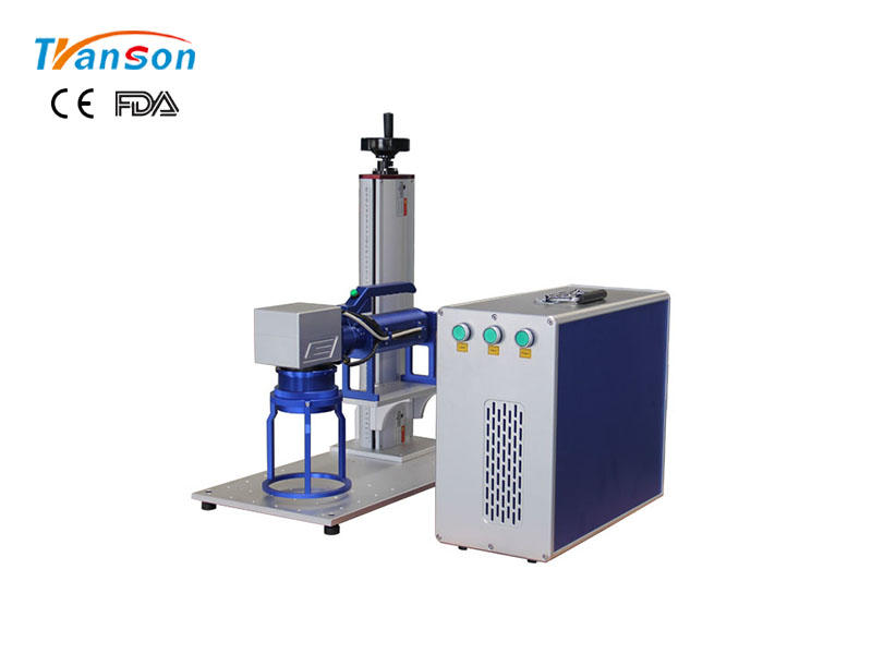 Fast-speed handheld laser marking machine from Transon