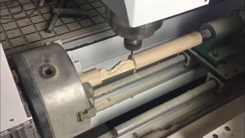 TSW1325 CNC Router With Rotary Device