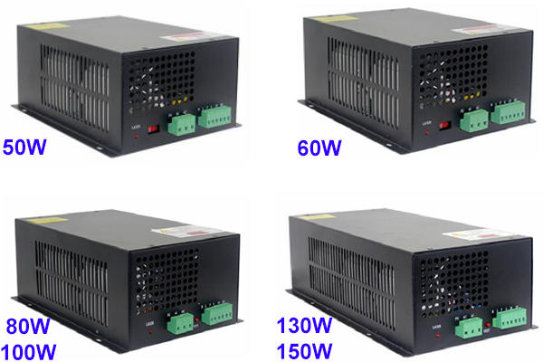 Laser power supply for co2 laser cnc marking machine