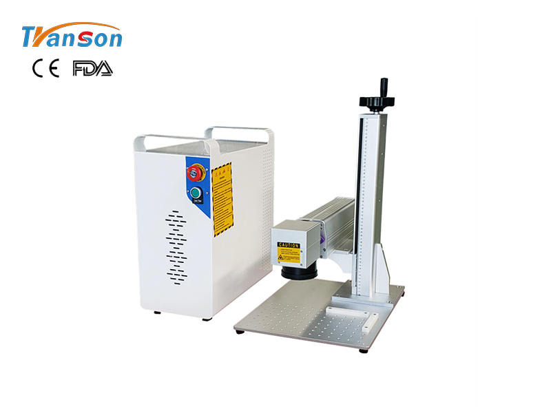 Hot-sale mini 20w fiber laser marking machine at best factory price