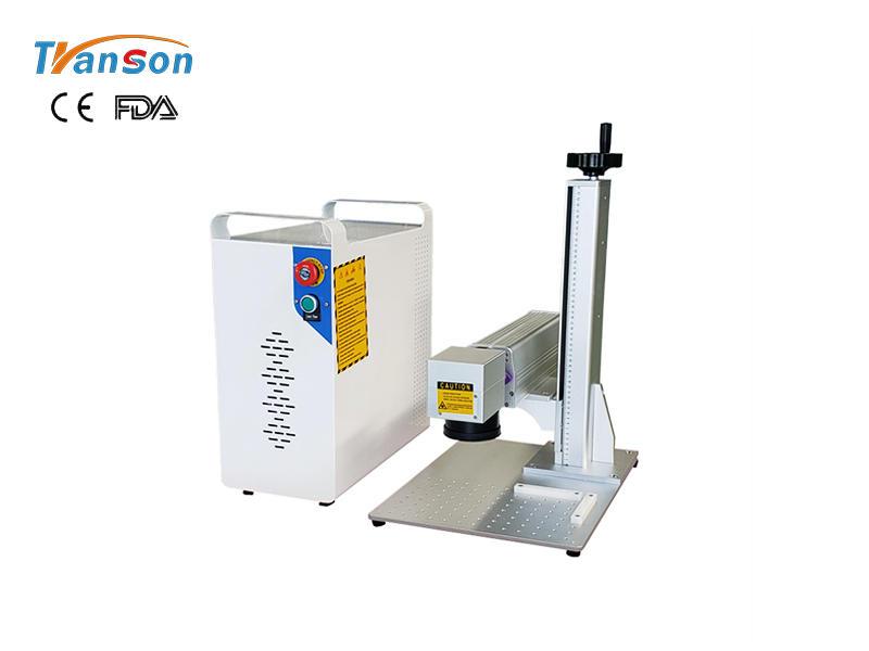 Hot-sale mini 20w fiber laser marking machine at best factory price