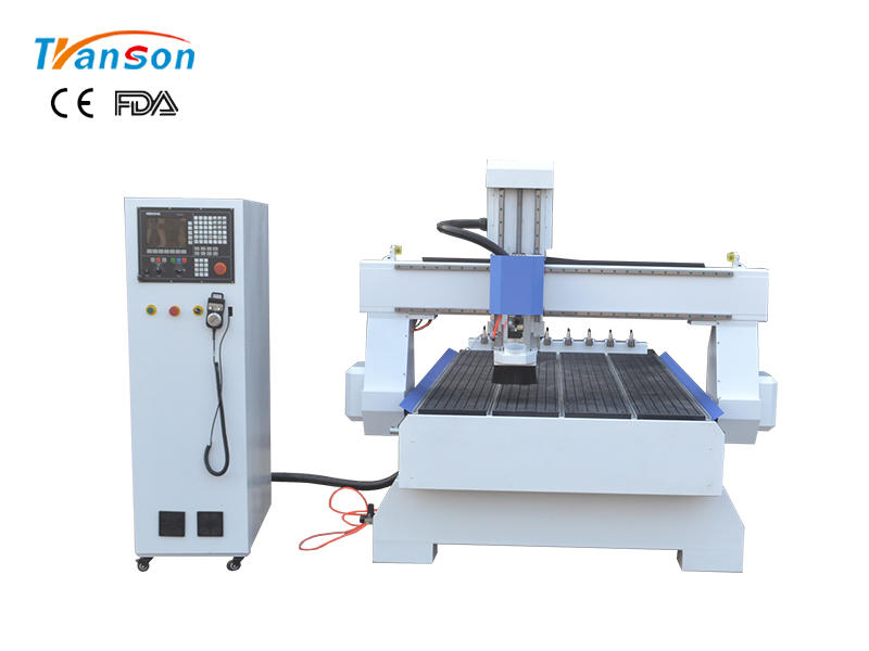 1325 woodworking cnc router with back 8 tools linear ATC