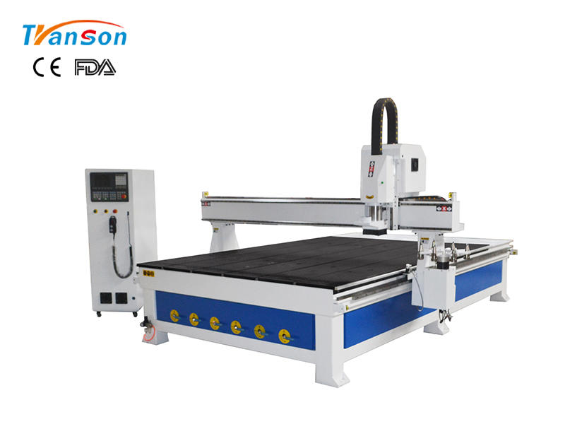 TSW2030A round cnc router atc with syntec sytem and 5.5kw water cooling spindle