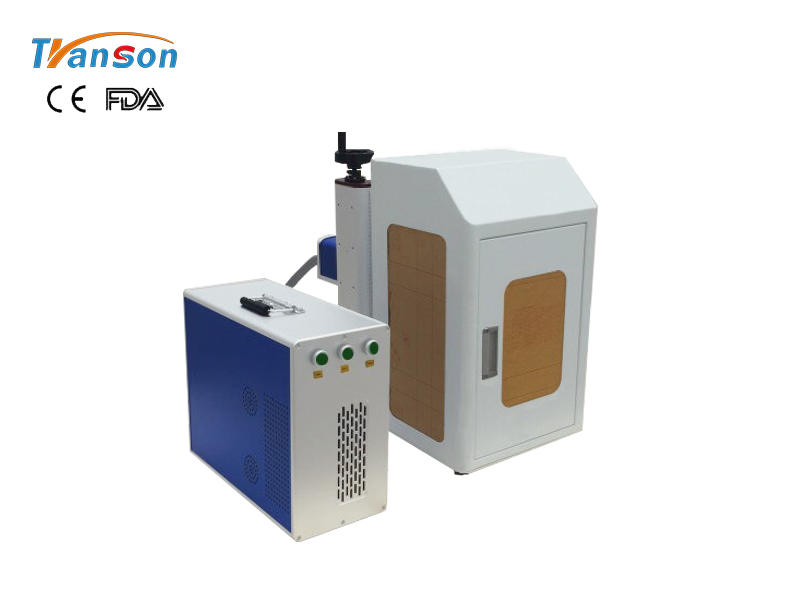 20W 30W 50Wmini fiber marking machine with cover