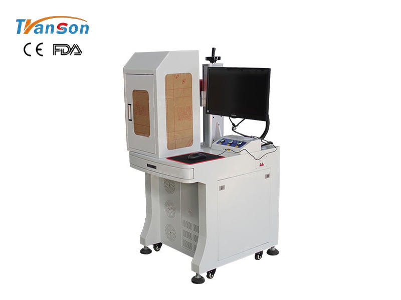 TSF - enclosed desktop fiber laser marking machine