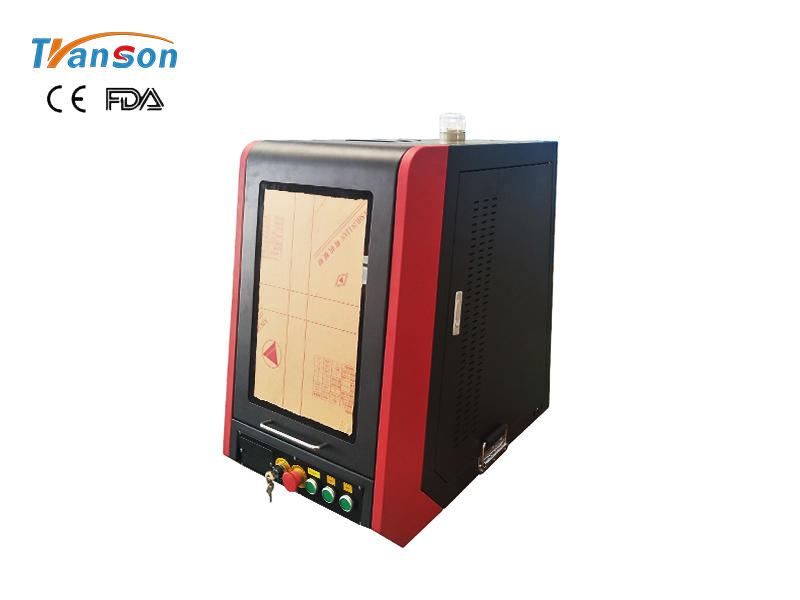 Best factory price for TSF-mini C sealed fiber laser machine for marking