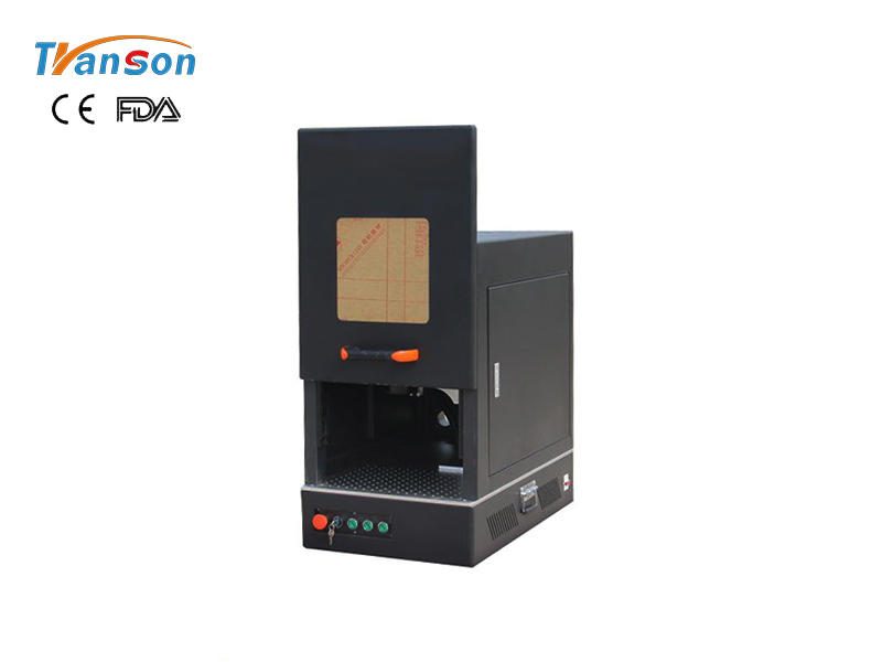 TSF-easy-operation mini C fiber marking machine