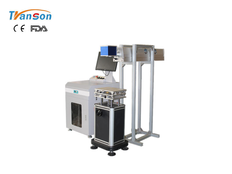 TS-CO2 RF tube desktop laser marking machine