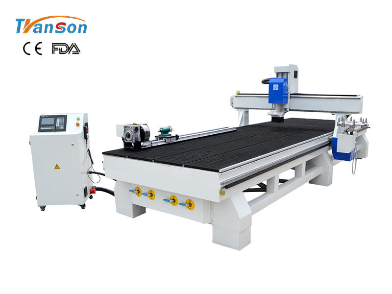 Tsw1550HD-atc-Round Disk cnc router