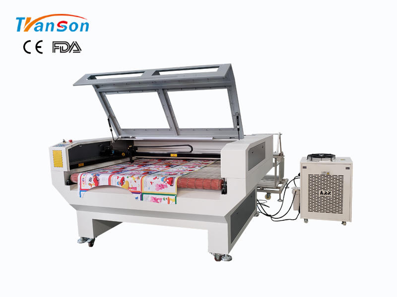 TSF1610 Auto Feed Fabric Laser Cutting Machine