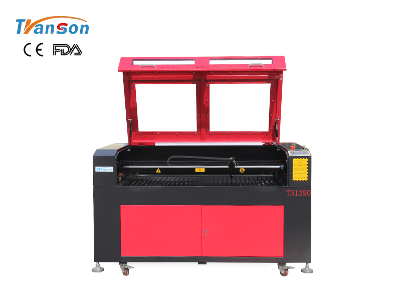 TN1390 CO2 Laser Engraver Cutter For Nonmetal Wood MDF Acrylic Leather