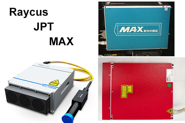 Fiber Laser Source Raycus, JPT, MAX, IPG Optional