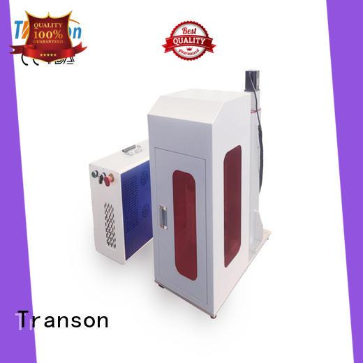 Transon high performance laser marking equipment metal engraving factory direct supply