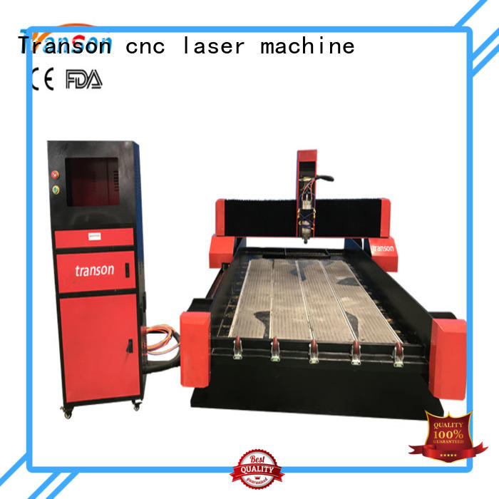 Transon effective stone cnc router fest speed high quality