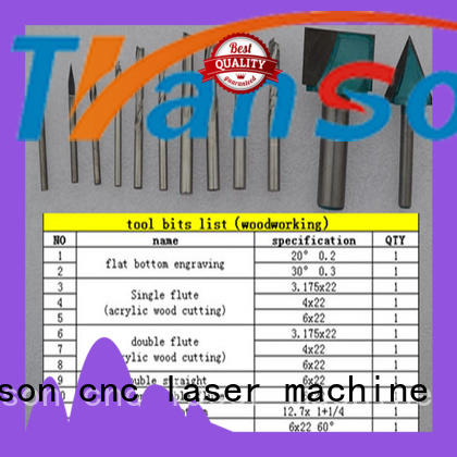 Transon cnc router bits best supply high quality